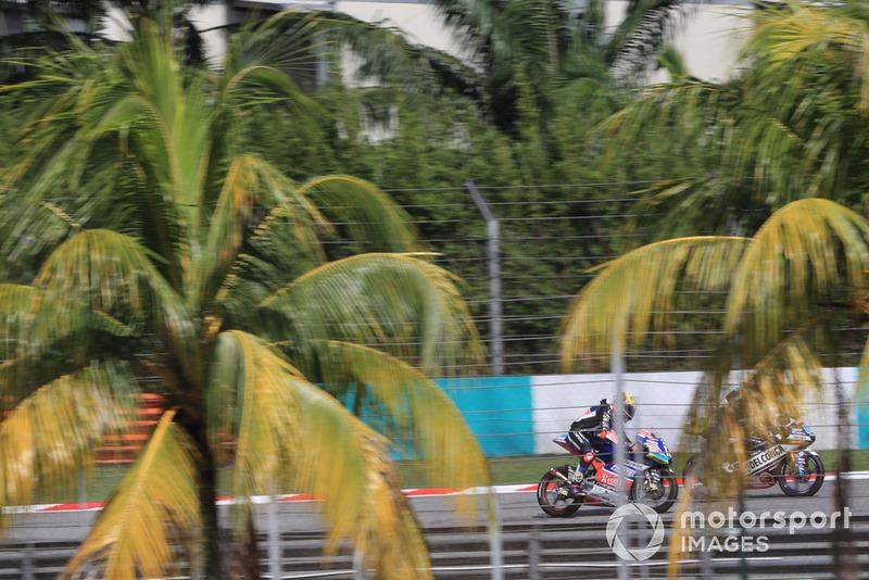 Хорхе Мартин, Del Conca Gresini Racing Moto3 и Марко Беццекки, Prustel GP