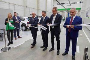 Apertura della nuova sede Skoda Motorsport