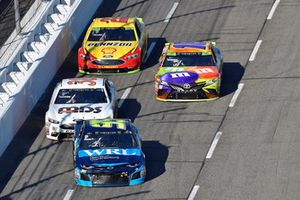 Regan Smith, Leavine Family Racing, Chevrolet Camaro WRL General Contractors, David Ragan, Front Row Motorsports, Ford Fusion MDS Transport, Kyle Busch, Joe Gibbs Racing, Toyota Camry M&M's Halloween, Joey Logano, Team Penske, Ford Fusion Shell Pennzoil