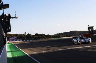 Bandiera a scacchi #15 RLR Msport Ligier JS P3 - Nissan: John Farano, Job Van Uitert, Robert Garofall