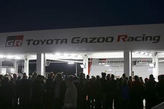 Toyota Gazoo Racing WRC team area