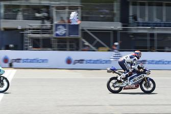 La victoire de Fabio Di Giannantonio, Del Conca Gresini Racing Moto3