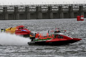 Shaun Torrente, Team Abu Dhabi leads Jonas Andersson, Team Amaravati