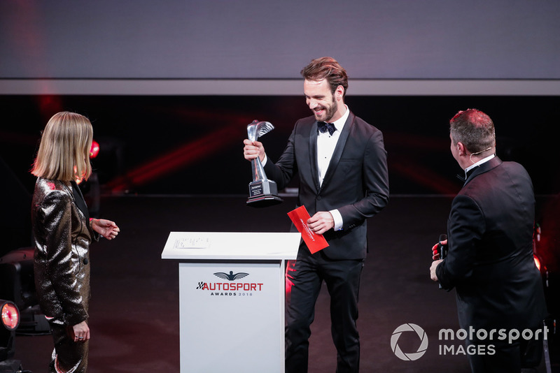 Номинация Rookie of the Year: чемпион Формулы E Жан-Эрик Вернь