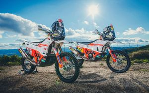 Bikes of KTM Racing Team