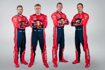 Sebastien Ogier, Julien Ingrassia, Janne Ferm, Esapekka Lappi, Citroën Racing