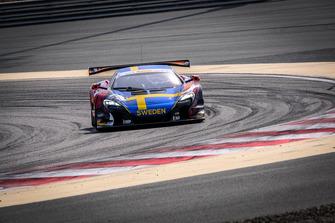 #188 Швеция, Garage 59 McLaren 650S GT3: Александер Вест, Виктор Боувэн