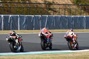 Marc Marquez, Repsol Honda Team, Andrea Dovizioso, Ducati Team, Cal Crutchlow, Team LCR Honda