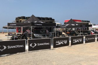 SsangYong team area
