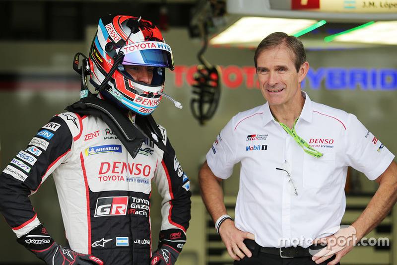 Jose Maria Lopez, Toyota Gazoo Racing y Pascal Vasselon, Toyota Gazoo Racing