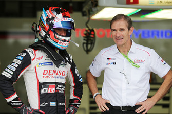 Jose Maria Lopez, Toyota Gazoo Racing and Pascal Vasselon, Toyota Gazoo Racing Technical Director
