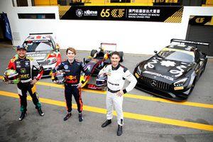 Rob Huff, Sébastien Loeb Racing Volkswagen Golf GTI TCR, Dan Ticktum, Motopark Academy, #1 Mercedes-AMG Team GruppeM Racing Mercedes - AMG GT3: Edoardo Mortara
