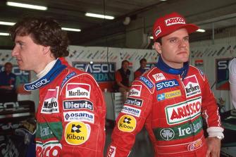 Eddie Irvine, Rubens Barrichello