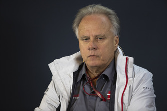Gene Haas, Founder and Chairman, Haas F1 Team in Press Conference
