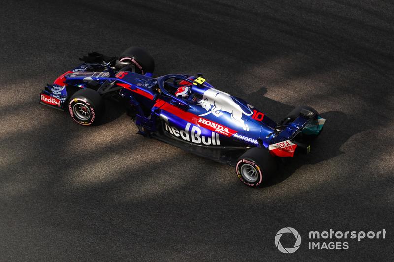 17. Pierre Gasly, Scuderia Toro Rosso STR13