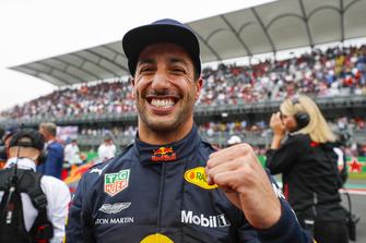 Pole man Daniel Ricciardo, Red Bull Racing