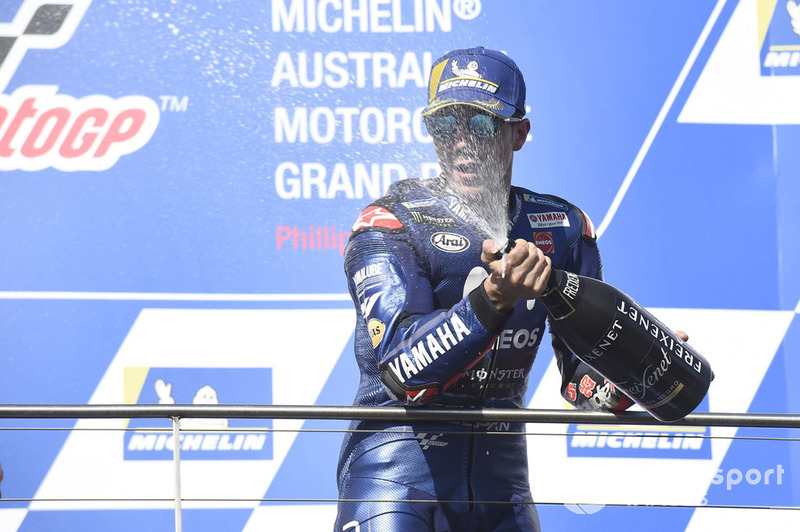 Podium Maverick Viñales, Yamaha Factory Racing
