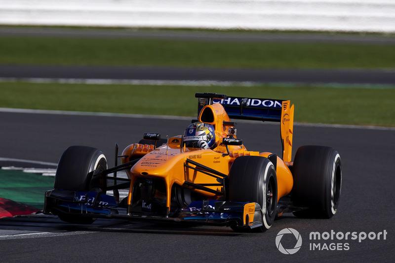 Ден Тіктем, McLaren