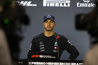 Lewis Hamilton, Mercedes AMG F1 in Press Conference