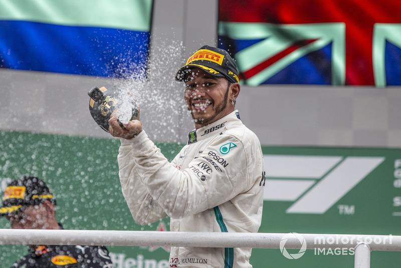 Хэмилтон выиграл 50 из 99 Гран При с начала гибридной турбо-эры