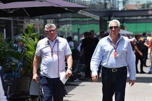 Otmar Szafnauer, Racing Point Force India Team Principal and Lawrence Stroll, Racing Point Force India F1 Team Owner