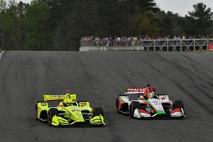 Simon Pagenaud, Team Penske Chevrolet, Patricio O'Ward, Carlin Chevrolet