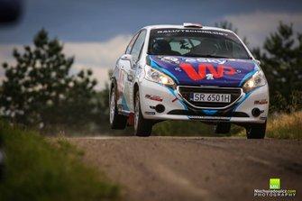 Kacper Wroblewski, Jacek Spentany, Peugeot 208 R2, RSMP