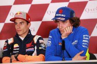 Марк Маркес, Repsol Honda Team, и Алекс Ринс, Team Suzuki Ecstar