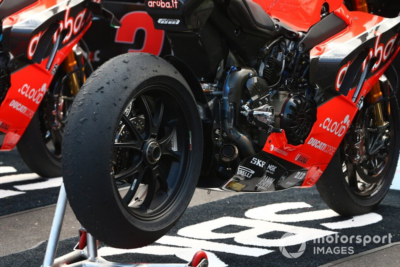 La moto di Alvaro Bautista, Aruba.it Racing-Ducati Team