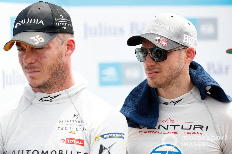 Andre Lotterer, DS TECHEETAH, Edoardo Mortara, Venturi Formula E, watch the times