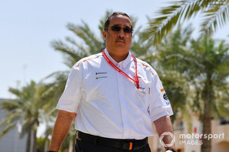 Sheikh Mohammad, Executive Director, McLaren