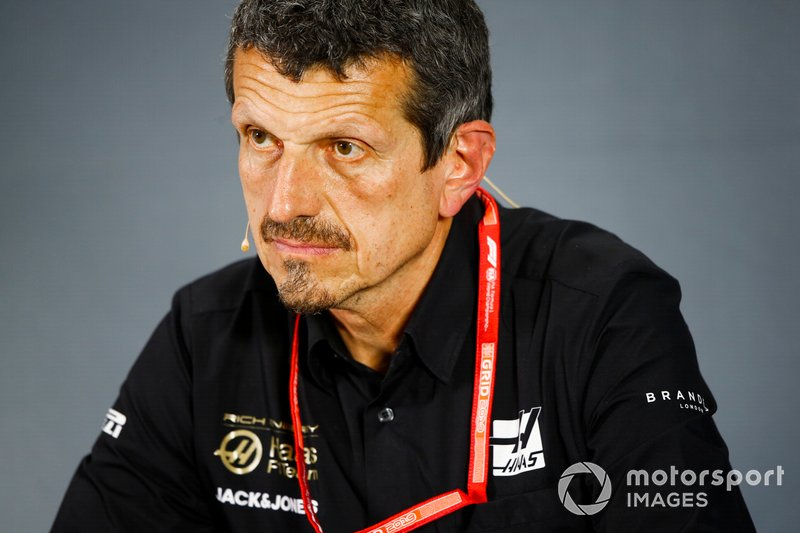 Guenther Steiner, Team Principal, Haas F1, in the team principals Press Conference