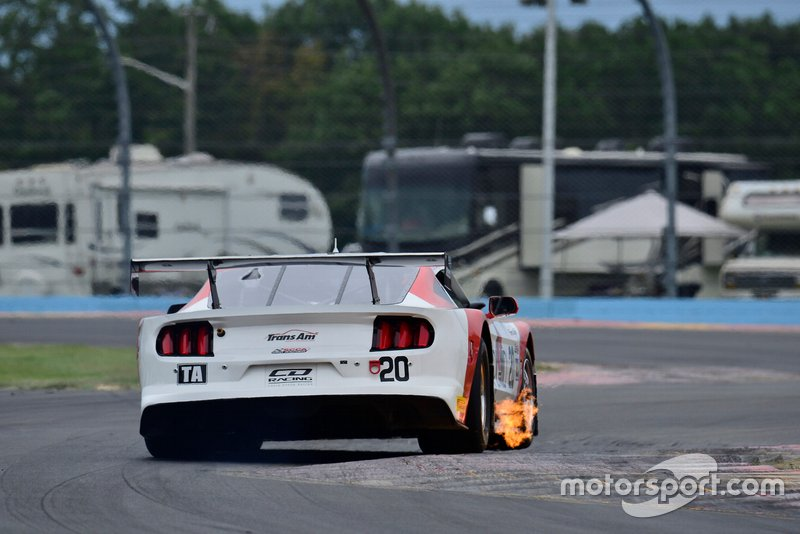 #20 TA Ford Mustang driven by Chris Dyson of CD Racing