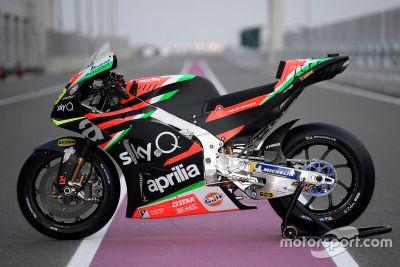 Presentazione Aprilia Racing Team Gresini
