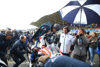 Markus Reiterberger, BMW Motorrad WorldSBK Team leaves the grid