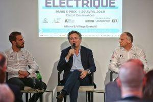 La conférence de presse de l'E-Prix de Paris