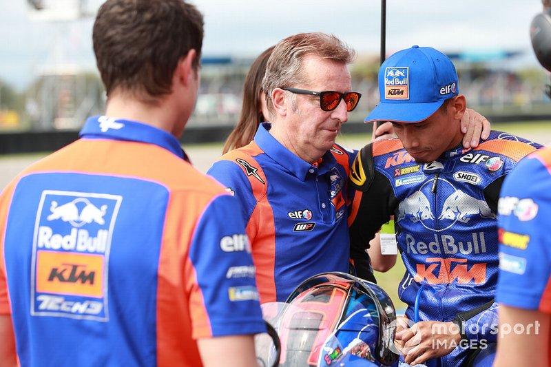 Hervé Poncharal, Red Bull KTM Tech 3, Hafizh Syahrin, Red Bull KTM Tech 3