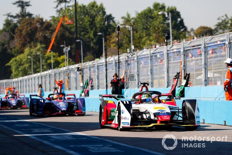 Lucas di Grassi, Audi Sport ABT Schaeffler, Audi e-tron FE05, Robin Frijns, Envision Virgin Racing, Audi e-tron FE05, Sam Bird, Envision Virgin Racing, Audi e-tron FE05