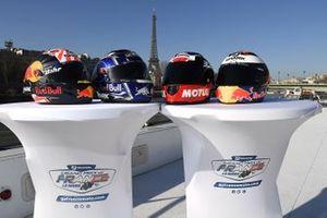 Presentatie van de Franse GP, Parijs