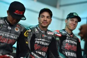 Franco Morbidelli, Petronas Yamaha launch