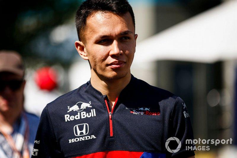 Alexander Albon, Toro Rosso (2019)