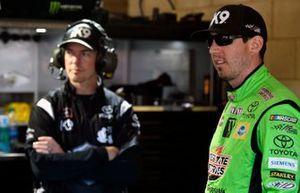 Kyle Busch, Joe Gibbs Racing, Toyota Supra iK9 and Ben Beshore