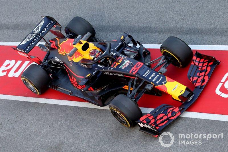 Max Verstappen, Red Bull Racing RB15