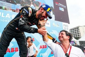 Jean-Eric Vergne, DS TECHEETAH, 1st position, on the podium