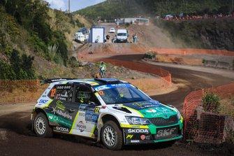 Ricardo Teodosio, Teixeira Jose, Skoda Fabia R5, Rallye Azores, FIA ERC