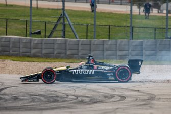 James Hinchcliffe, Arrow Schmidt Peterson Motorsports Honda crash