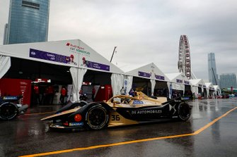 Andre Lotterer, DS TECHEETAH, DS E-Tense FE19 leaves the pit lane