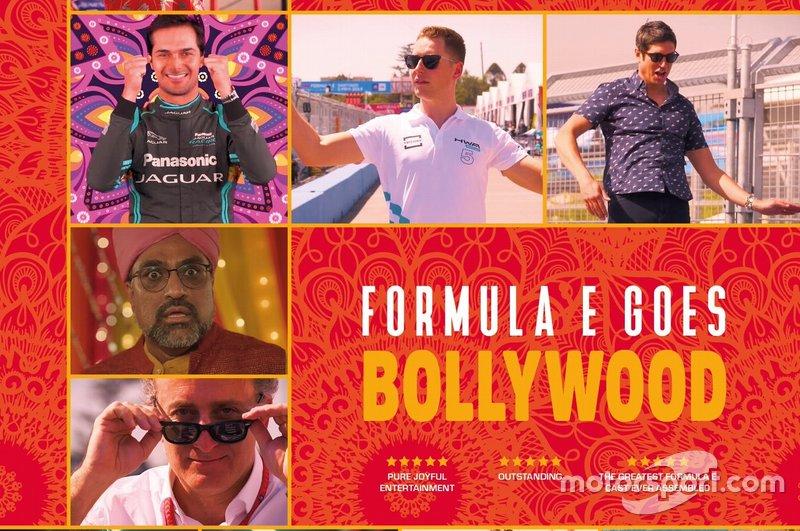 Mahindra Bollywood video poster