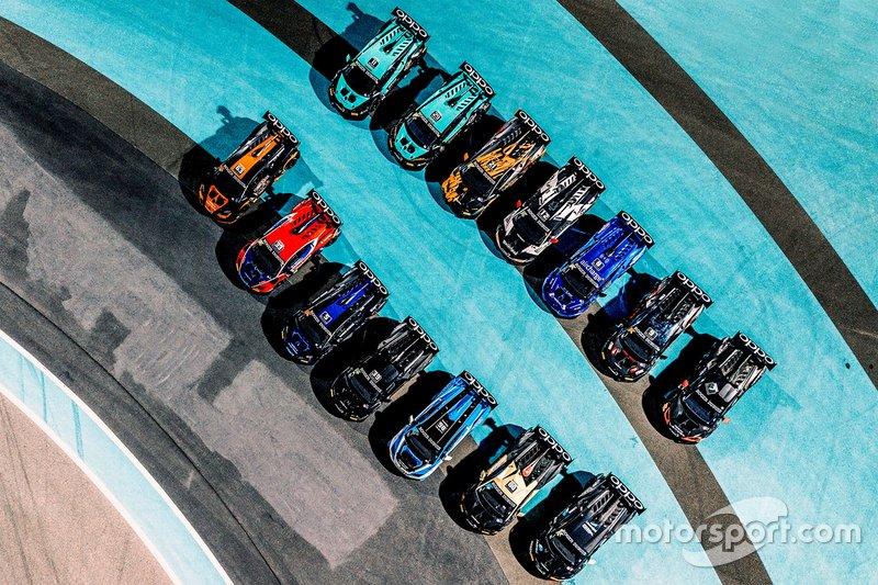 Vetture del Lamborghini Super Trofeo