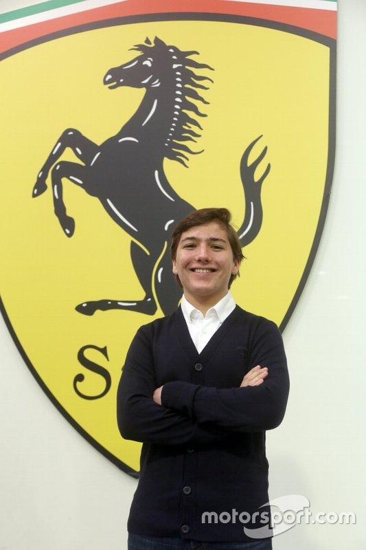 Enzo Fittipaldi, Academia de pilotos de Ferrari